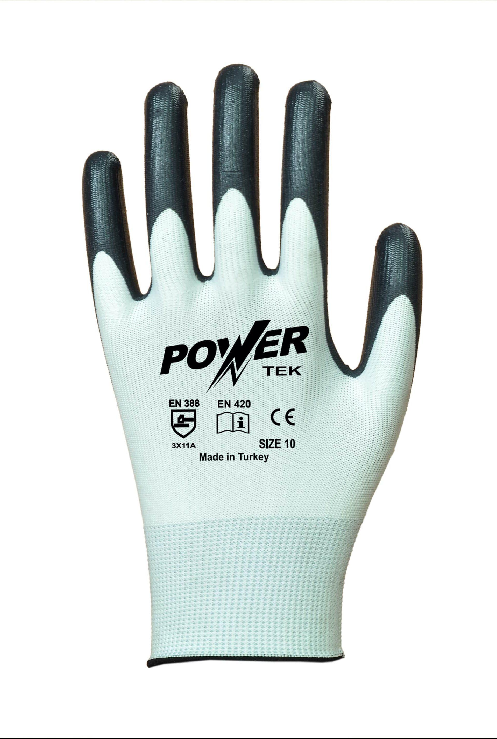 power-tek-siyah-beyaz-duz-astarli-nitril-kaplama-pamuk-is-eldiveni