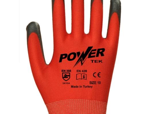 power-tek-siyah-kirmizi-duz-astarli-nitril-kaplama-pamuk-is-eldiveni