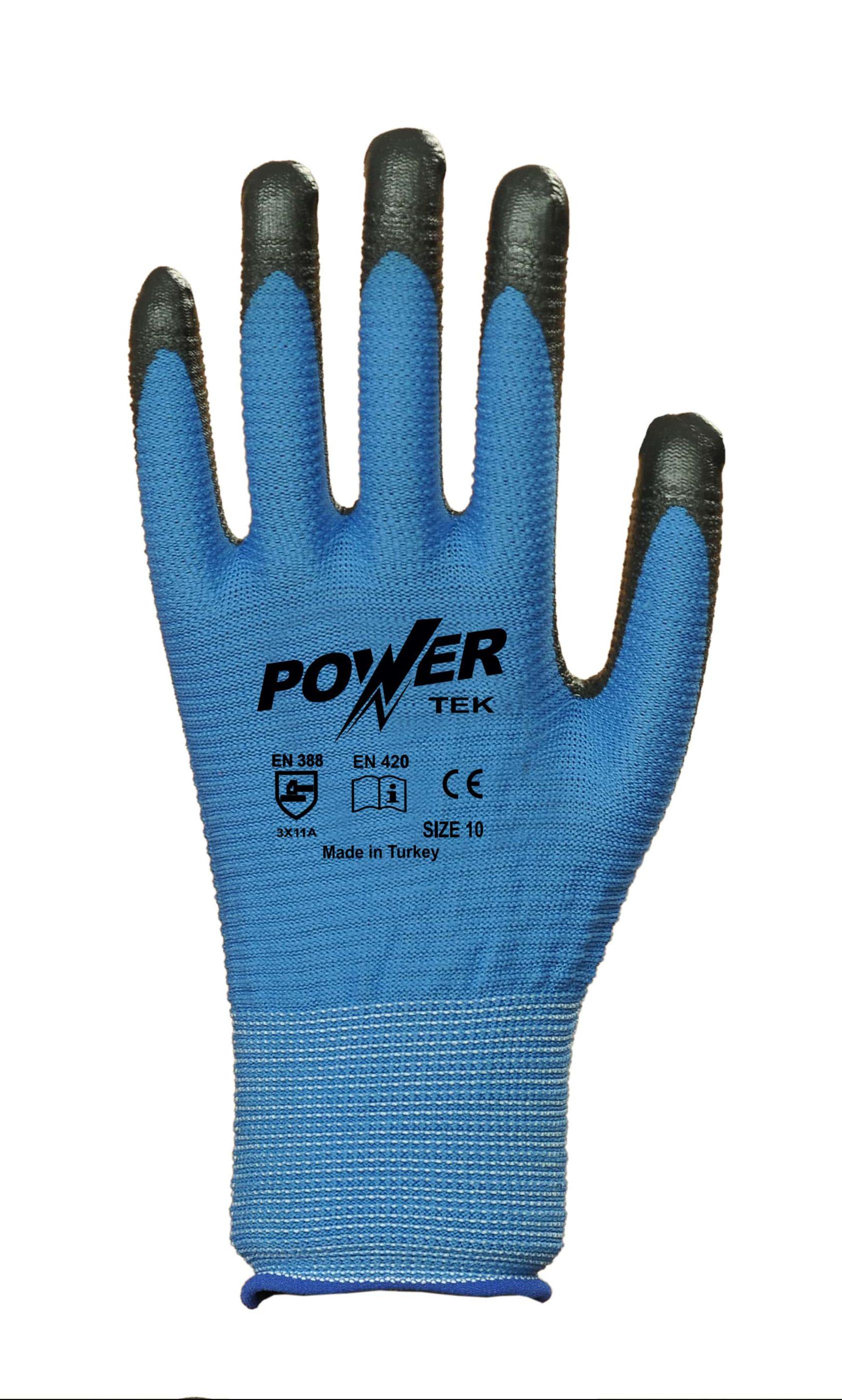 power-tek-siyah-mavi-zebra-astarli-nitril-kaplama-pamuk-is-eldiveni