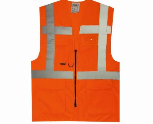 uniwest-UW-112-cift-seritli-yonetici-yelegi-turuncu